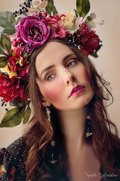 Photo: Janne Luigla MUA: Natalia Shishkina Makeup Artist Dress: NYMF Moestuudio http://www.nymf.ee/ Accessories: Wise Style http://www.wisestyleonline.com/