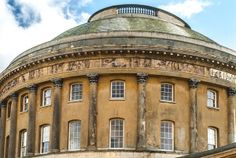The Rotunda dome and frieze at Ickworth House