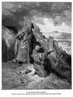 An Enemy of the Crusaders - Gustave Dore