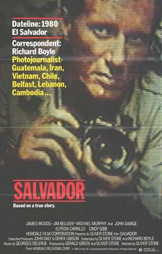 Salvador Movie Poster (#1 of 2) - IMP Awards