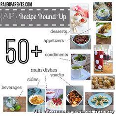 collection of 50+ Autoimmune Protocol Paleo Recipes