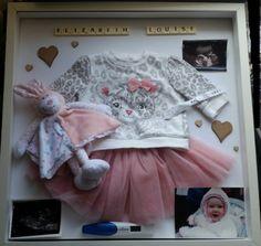 Baby Scan Frame, Keepsake Baby Gifts, Memory Frame, Newborn Gifts, Personalized Baby, Christening, Nursery, Memories, Scrabble