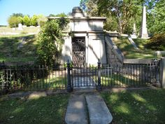 Home of the Richmond Vampire in Hollywood Cemetery