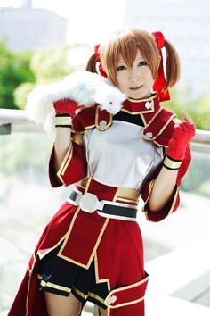 Cosplay costumes with Sword Art Online shirika style for girls 9efef4d42463
