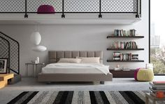 12 Harmonious And Simple Functional Headboards Collection