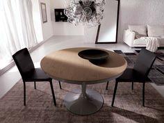 Tavoli allungabili rotondi by Ozzio