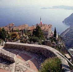 Eze, a charming medieval village in the French Riviera, it's like walking into a time warp.