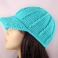 Crochet hat.
