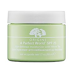 Sephora: Origins : A Perfect World™ SPF 25 Age-Defense Moisturizer with White Tea : moisturizer-skincare