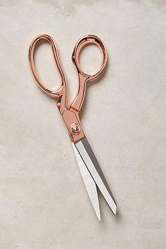 Rose-Handled Scissors #anthropologie