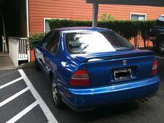1995 Honda Accord....mine was black