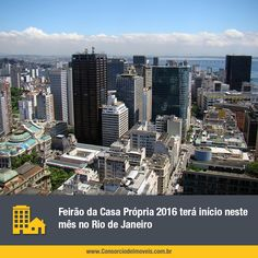 Feirão da Casa Própria 2016 terá início neste mês no Rio de Janeiro. Confira: https://www.consorciodeimoveis.com.br/noticias/feirao-caixa-da-casa-propria-2016-em-diversas-cidades?idcampanha=283&utm_source=Pinterest&utm_medium=Perfil&utm_campaign=redessociais