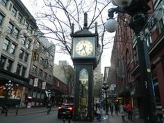 Gas Town, Vancouver. Countries Of The World, Big Ben, Vancouver, Places To Go, Landscape, Building, Travel, Viajes, World Countries