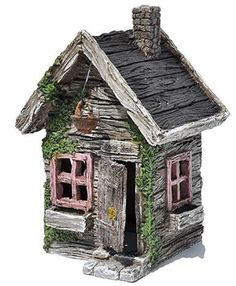 Miniature Fairy Garden Fairy Shed. Shed Storage, Miniature Fairy Gardens, Fairytale, Miniatures, Toys, Outdoor Decor, Home Decor, Fairy Tail, Activity Toys