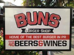 Buns Burger Shop in Condado, Puerto Rico Lunch To Go, Good Burger, Buns, Puerto Rico, Vacation, Shopping, Vacations, Holidays Music, Po' Boy
