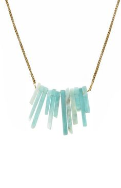 Amazonite Chip Necklace