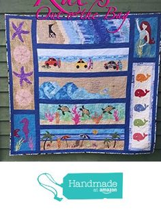 Beach/Ocean Themed Quilt from Row by Row Experience 2015 - Ready to Ship from Kat's Out o'the Bag http://www.amazon.com/dp/B016PB6IOO/ref=hnd_sw_r_pi_dp_3pZlwb12HHZVS #handmadeatamazon