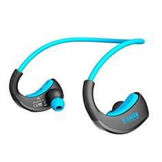 Cool Bluetooth wireless earbuds and headset for sports, gym and workout.  #technology