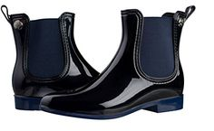 Silky Toes Womens Comfort Rain Boots 39 Navy Blue *** This is an Amazon Affiliate link. Want to know more, click on the image.