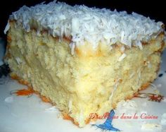 Easy West Indian Mont-Blanc Cake Source by dienabakebe Gateau Cake, Cake Recipes, Dessert Recipes, Creole Recipes, Cake & Co, Exotic Food, Caribbean Recipes, Sweet Cakes, Vanilla Cake