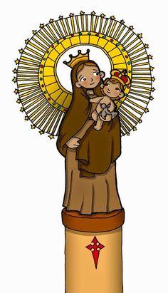 Virgen del Pilar .-