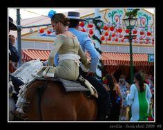 Feria de Sevilla- caballistas