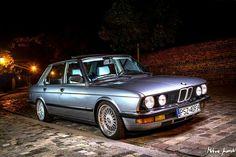 BMW E28 5 series grey