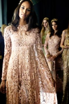 ELIE SAAB Backstage | Haute Couture Autumn Winter 2015-16