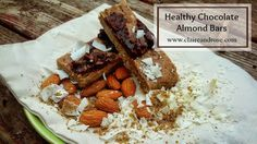 Snacks don't have to be a guilty pleasure. Try this recipe for healthy chocolate almond bars to satisfy your sweet tooth. You won't be sorry!