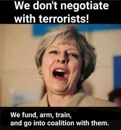 Our useless Prime Minister of England, Theresa May Political Quotes, Political Satire, Uk Politics, Funny Politics, Politics Today, Conservative Memes, Scum Of The Earth, Donald Trump Jr, Theresa May