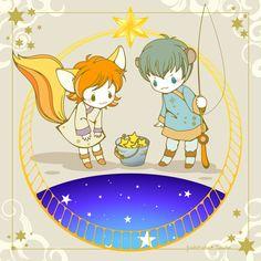 星釣り -小狐座と小熊座-