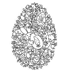 Easter egg shape vector art - Download Shape vectors - 763216