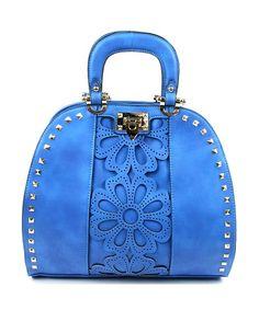 Fashion Faux leather Laser Cut Satchel Bag MS3185 e9e7ce54b8110