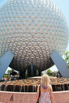 Spaceship Earth at Epcot - Orlando, Florida