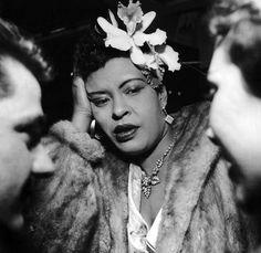 Billie Holiday — by Jean-Pierre Leloir