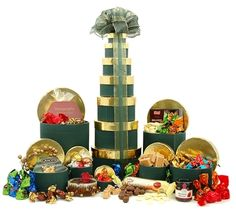 Christmas Treats Tower Hamper