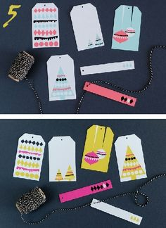 24 Great Ideas for DIY Christmas Gift Tags.