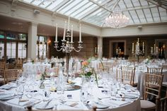 Lavender love at Elaine and Kevin's wedding at Tankardstown House Wedding 2017, Wedding Venues, Wedding Venue Inspiration, Confetti, Real Weddings, Lavender, Table Settings, Chandelier, Goals