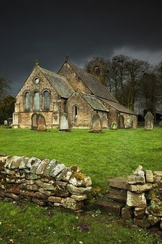 Ancient Church in Northumberland, England. photo via rob