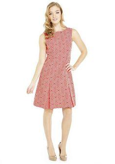 F&F Limited Edition Geometric Jacquard Prom Dress