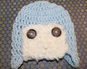 PATTERN for Crochet Aviator Hat  Size Newborn - 3 Months by KraftyShack on Etsy, $4.99 USD