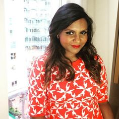 For the entirety of Mindy Kaling's time on The Mindy Project, she's worn a long hairstyle—perfectly suited to her character's hyper-feminine personality.