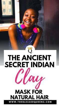 The Ancient Secret Indian Clay Mask For Natural Hair - The Blessed Queens Baddie Hairstyles, Casual Hairstyles, Fringe Hairstyles, Hairstyles For Round Faces, Hairstyles For School, Everyday Hairstyles, Professional Hairstyles, Hairstyles With Bangs, Girl Hairstyles