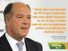 Carlos Carreiras, Vice-Presidente do Partido Social Democrata, num artigo de opinião no Jornal I. #PSD #acimadetudoportugal