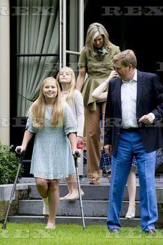 Dutch Royal family photocall, Eikenhorst in Wassenaar, The Netherlands - 08 Jul 2016