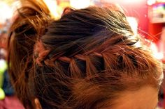 Might play with this style for a while till I can get my french braid skills on point.