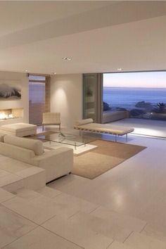 Marvelous room modern home interior design, modern house design, interior a Modern Home Design, Modern Homes, Modern Beach Houses, Luxury Modern House, Apartment Interior Design, Interior Balcony, Bathroom Interior, Kitchen Interior, Pent House