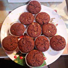 Δοκιμαστικό Χριστουγεννιάτικο δέντρο Νο1.  #μαφινς #σοκολατα #muffins #dublechocolatemuffin #chocolate #christmastree