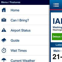 My TSA | Can you bring _____ through airport security? Open up My TSA and you'll know in an instant. You can also use the app to look up how long the security wait times are at your airport so you'll be sure to arrive early enough to make your flight. Download here. For more help navigating an airport like a pro, take a look at GateGuru and Flight Aware.