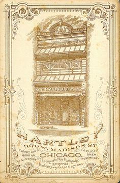 Cabinet Card Back, Hartley #1 by depthandtime, via Flickr
